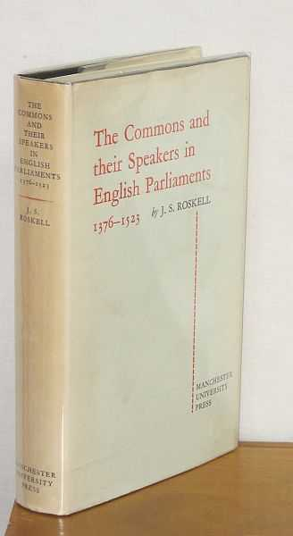 Image for The Commons and their Speakers in English Parliaments 1376-1523