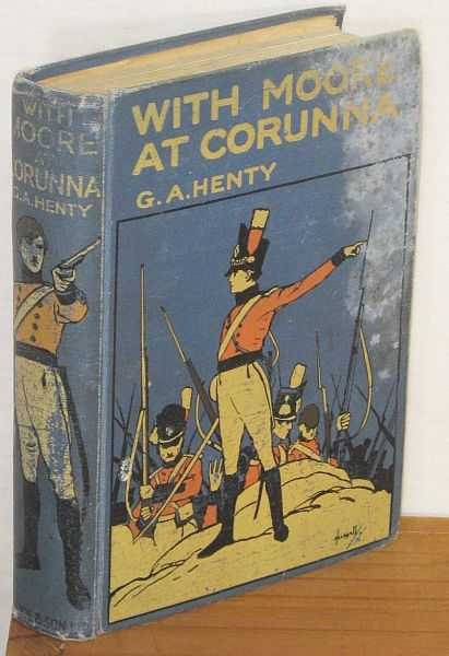 Image for With Moore at Corunna : A Tale of the Peninsular War