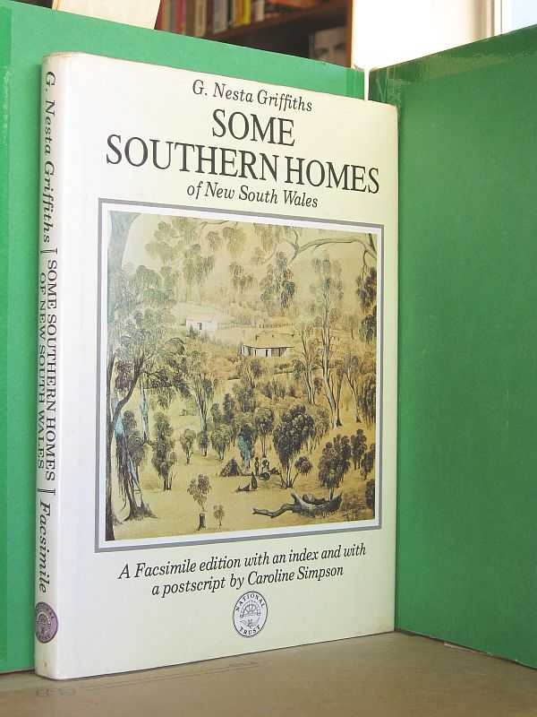 Image for Some Southern Homes of New South Wales : A facsimile edition with a postscript by Carline Simpson and an index.
