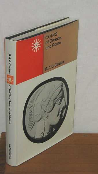 Image for Coins of Greece and Rome.