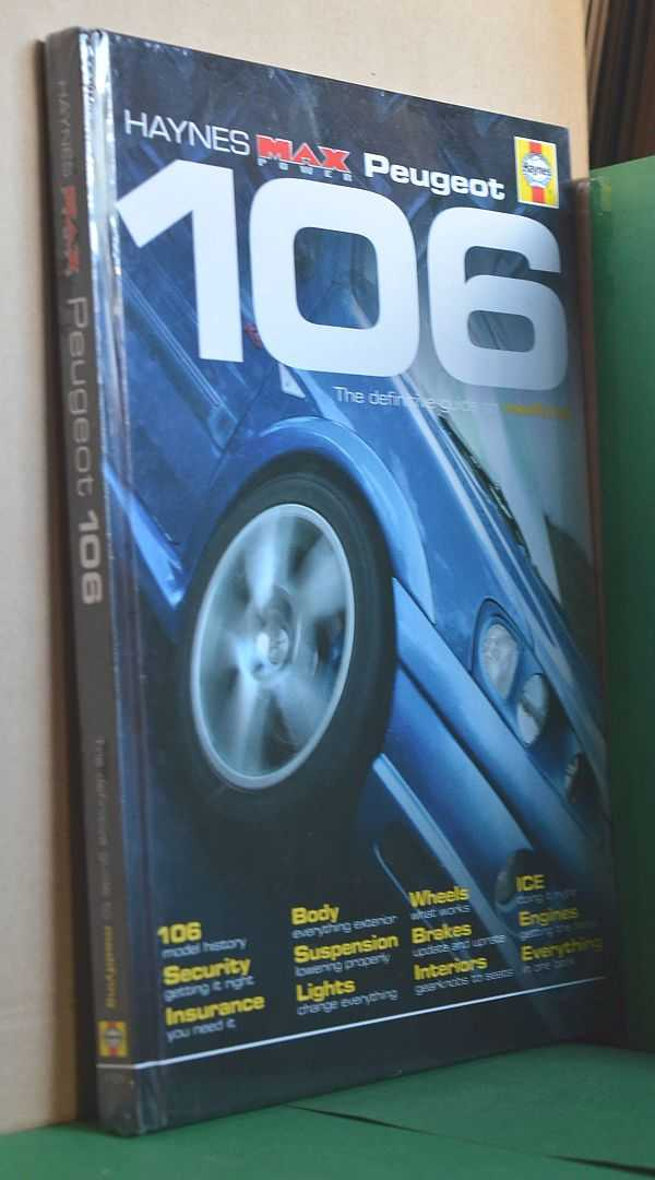 Image for Peugeot 106: Haynes Max Power: The Definitive Guide to Modifying