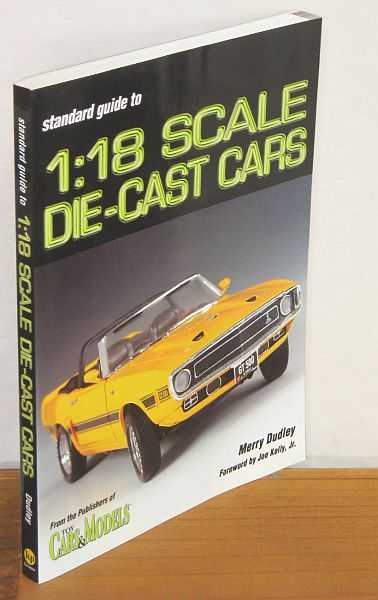 Image for Standard Guide to 1:18 Scale Die-Cast Cars