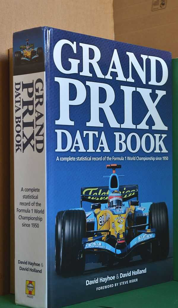Image for Grand Prix Data Book : A Complete Statistical Record of the Formula 1 World Championship since 1950