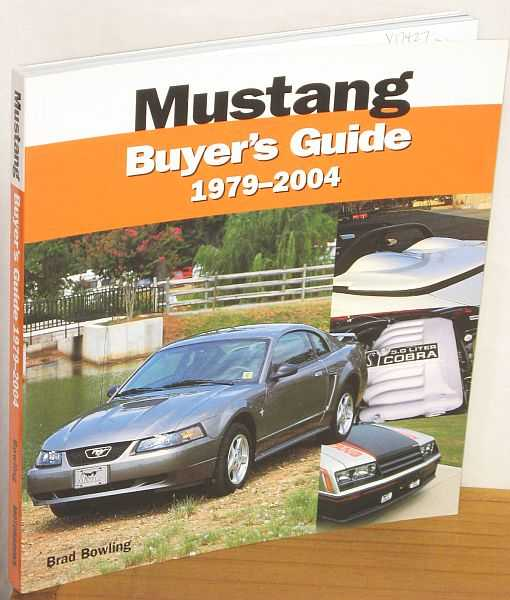 Image for Mustang Buyer's Guide 1979-2004