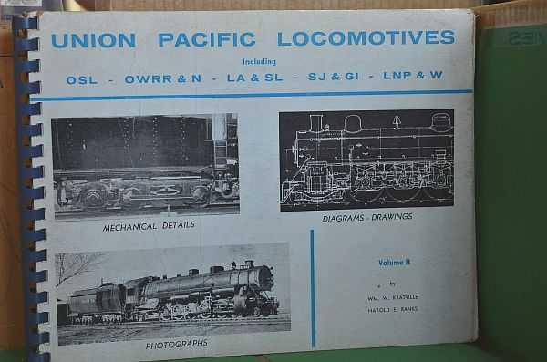 Image for Union Pacific Locomotives Volume II