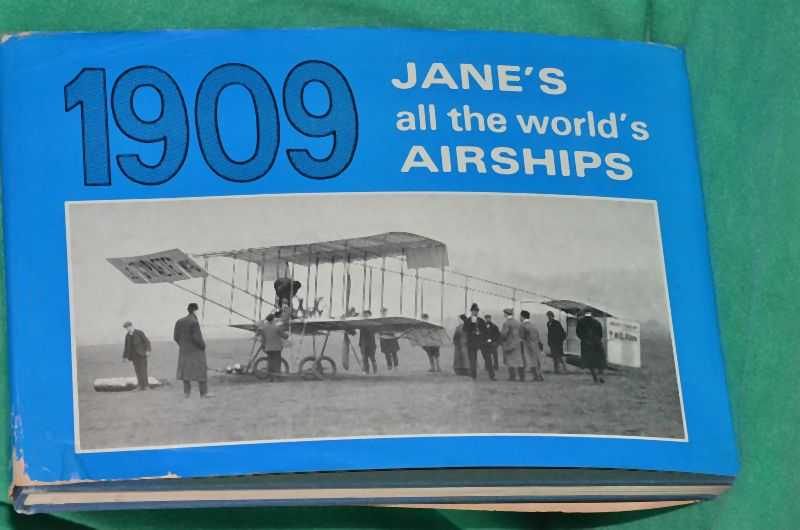 Image for Jane's all the world's AIRSHIPS 1909