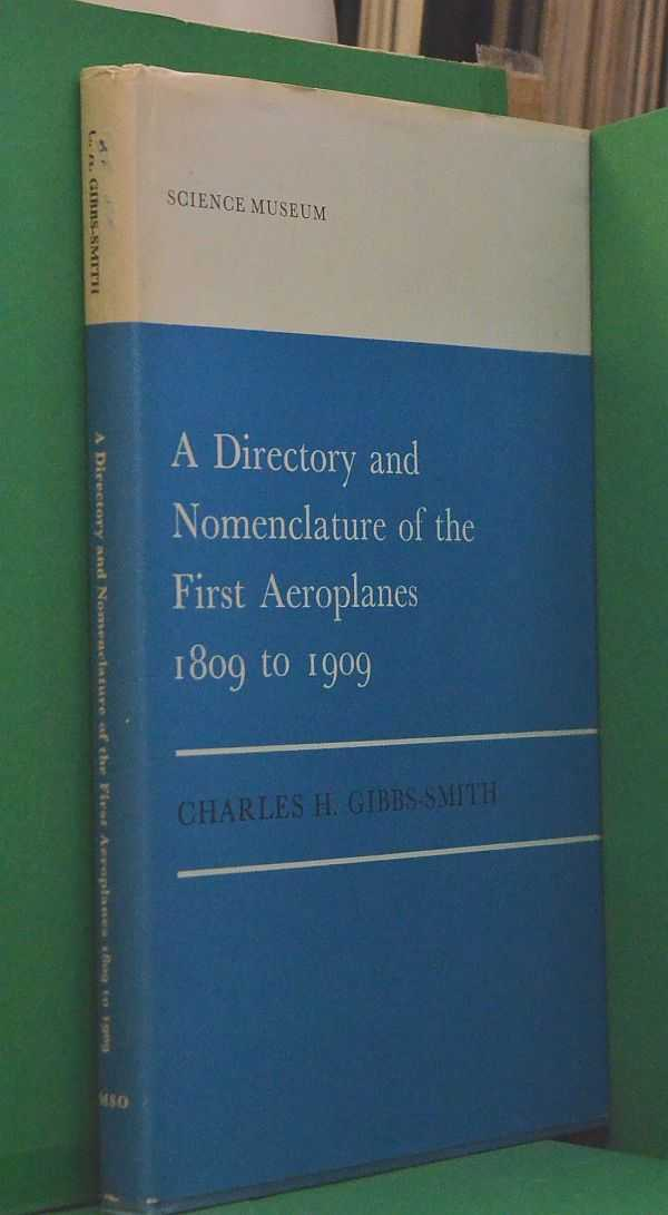 Image for A Directory and Nomenclature of the First Aeroplanes: 1809 to 1909