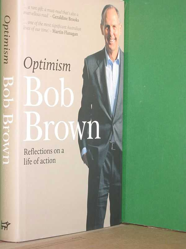 Image for Optimism: Reflections on a life of action