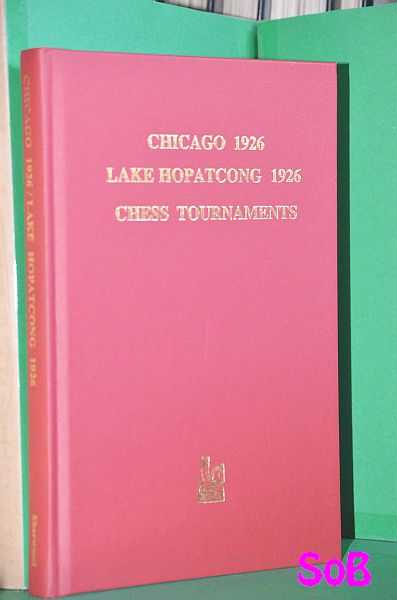 Image for Chicago 1926 and Lake Hopatcong Chess Tournament