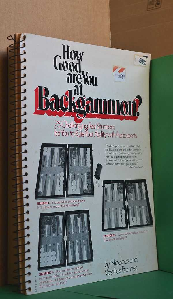 Image for How Good are You at Backgammon?