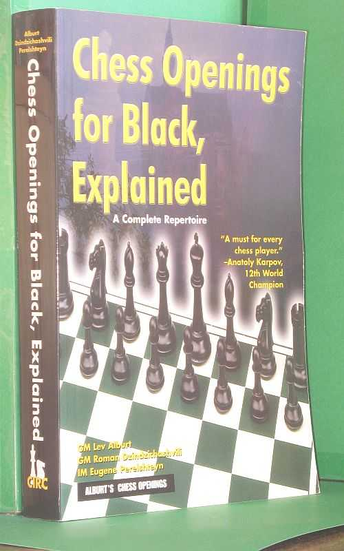 Image for Chess Openings for Black, Explained: A Complete Repertoire
