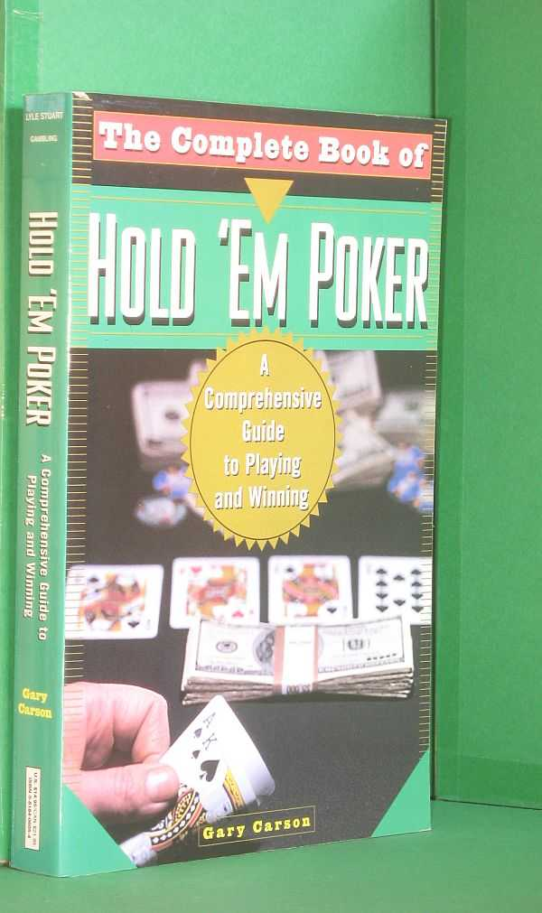 Image for Complete Book of Hold 'Em Poker: A Comprehensive Guide to Playing and Winning