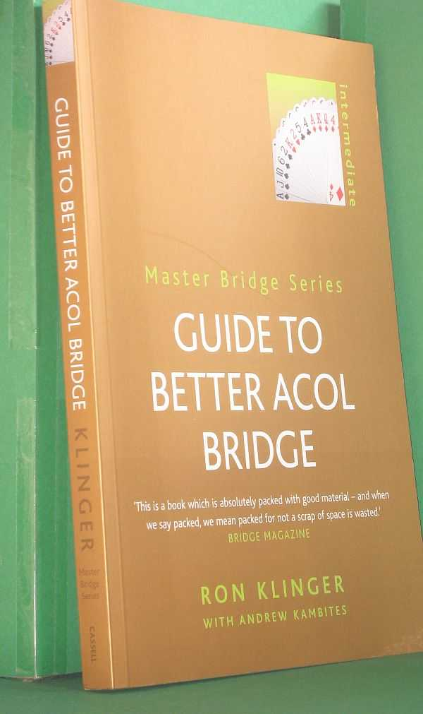Image for Guide to Better Acol Bridge