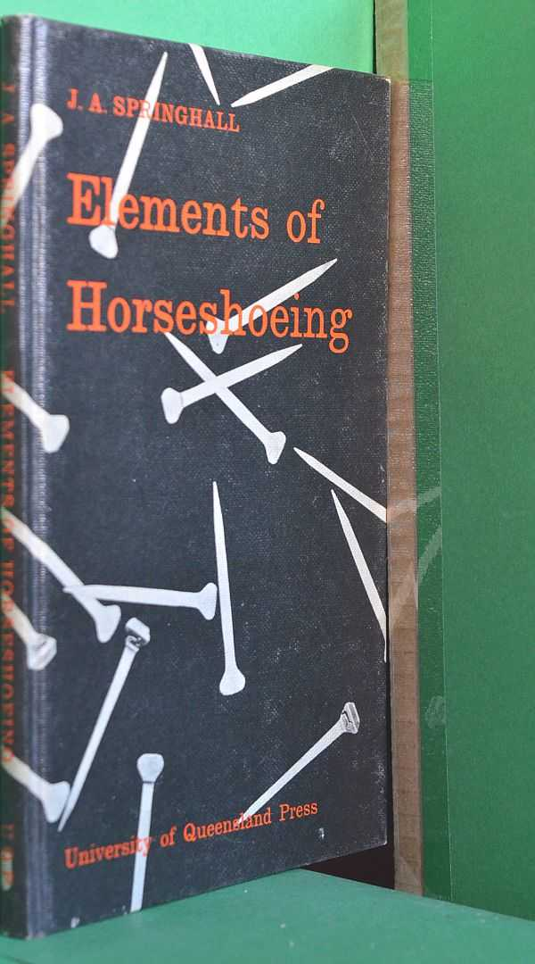 Image for Elements of Horseshoeing