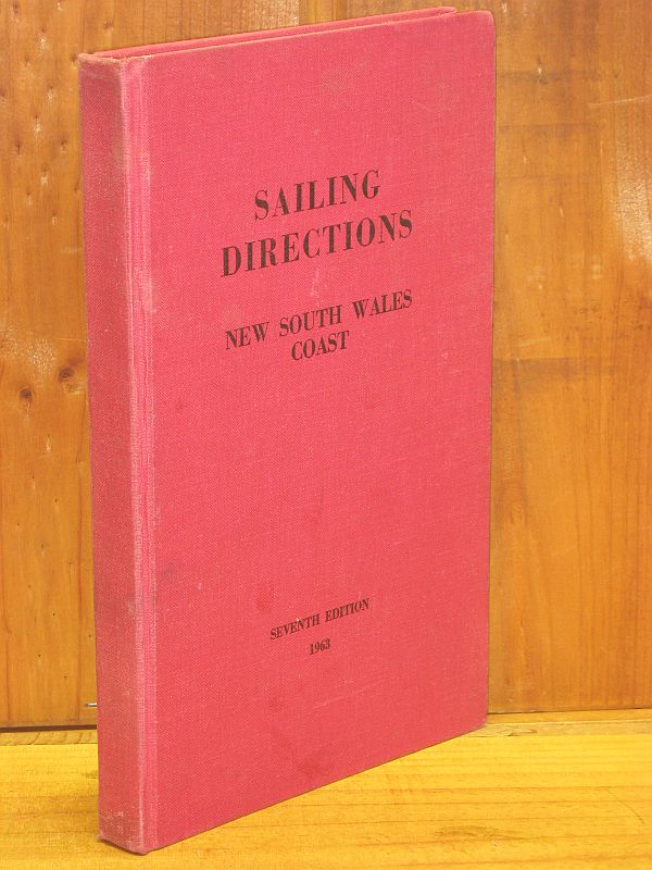 Image for Sailing Directions New South Wales Coast 1963