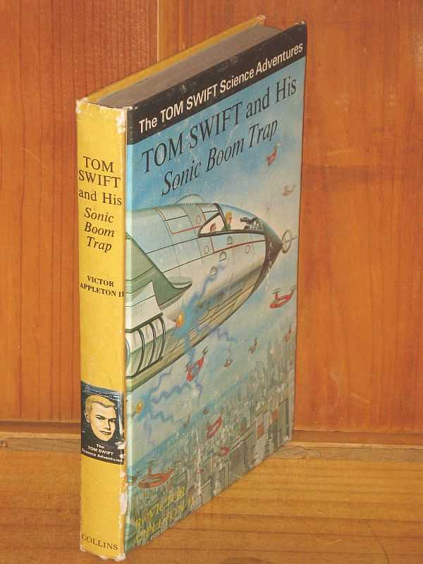 Image for Tom Swift and his Sonic Boom Trap
