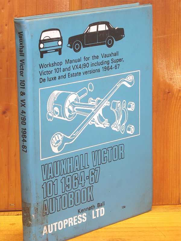 Image for Vauxhall Victor 101 1964-67 Autobook: Workshop Manual