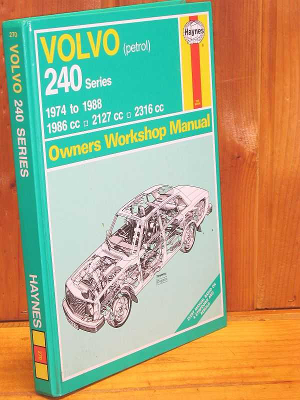 Image for Volvo 240 Series Owners Workshop Manual