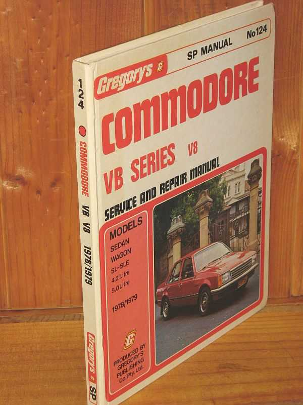 Image for Commodore V8 Service and Repair Manual: VB Series Sedan