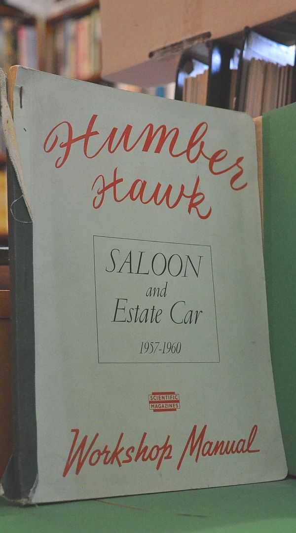 Image for Humber Hawk. Saloon and Estate Car 1957-1960