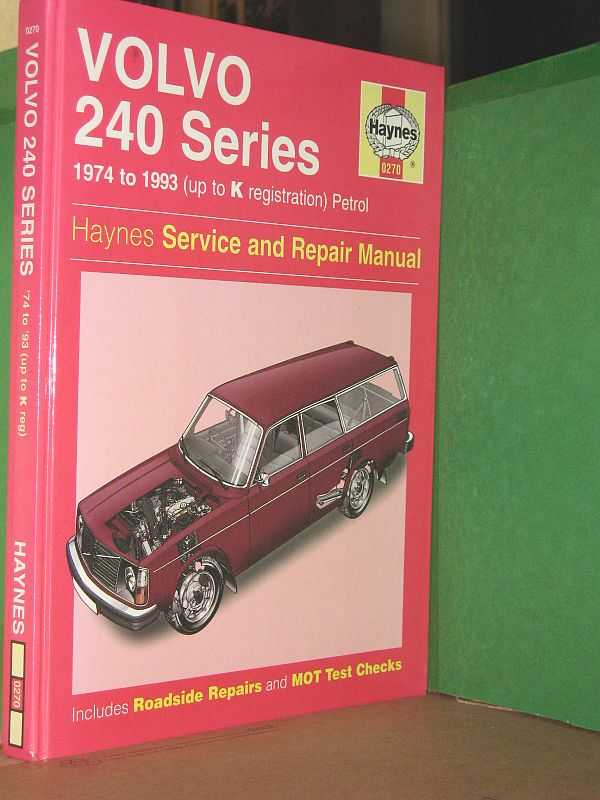 Image for Volvo 240 Series: Service and Repair Manual