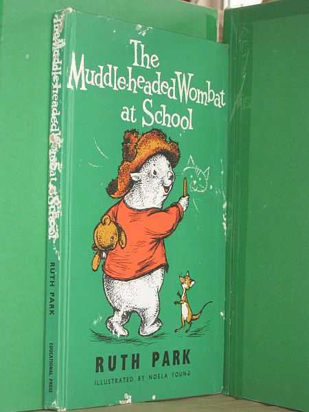 Image for The Muddle-Headed Wombat At School