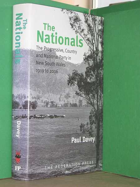 Image for The Nationals: The Progressive, Country and National Party in New South Wales 1919 to 2006