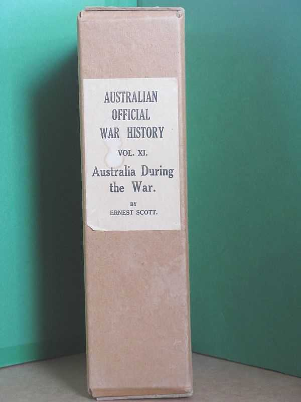 Image for The Official History of Australia in the War of 1914-1918: Volume XI : Australia During the War